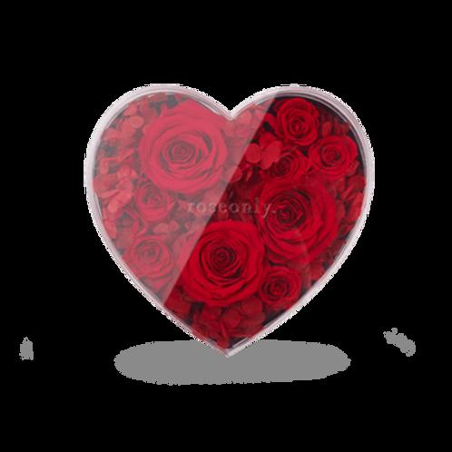 Classic Rose Heart