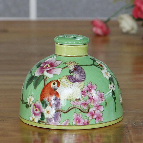 Hand painted Porcelain Reed Diffuser .
