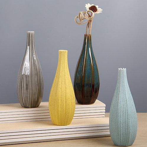 Delicate Vase Ceramic Home Colorful Handcraft