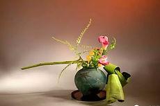 Ikebana London/ flowers in oriental style London