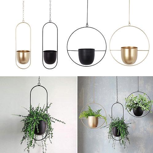 Iron Hanging Flower Pot.