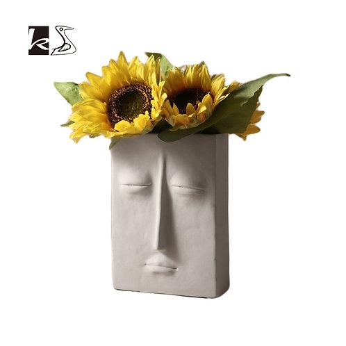 Face Flower Vases .