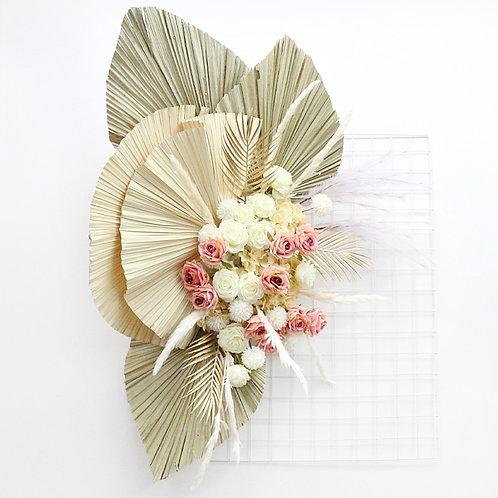 Dried Flower Palm Fan Leaf Plants