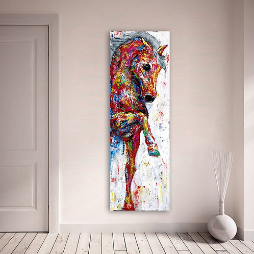 Horse Picture Wall Art Canvas Painting Poster