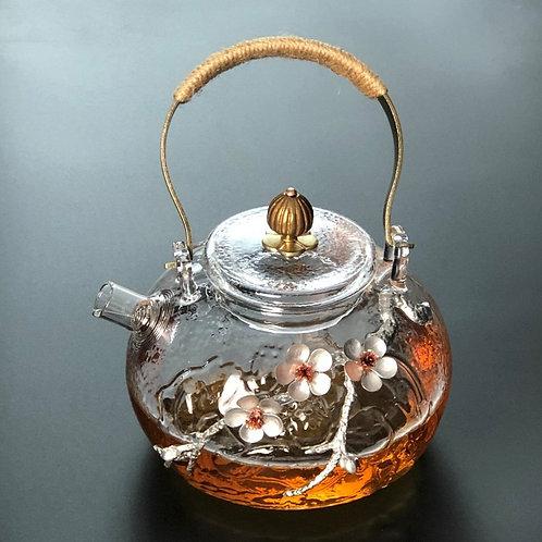 Handmade Glass Teapot.
