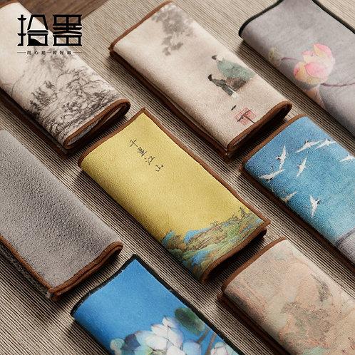Oriental High-End Tea Towels Tea Cloth.
