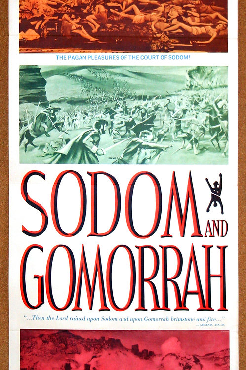 Sodom and Gomorrah, 1962