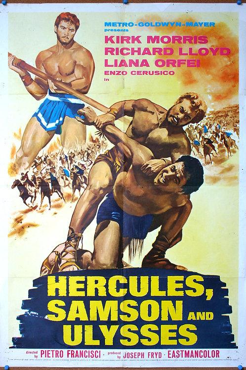 Hercules, Samson and Ulysses, 1965