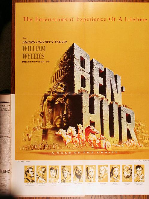 Ben Hur (poster insert), 1959