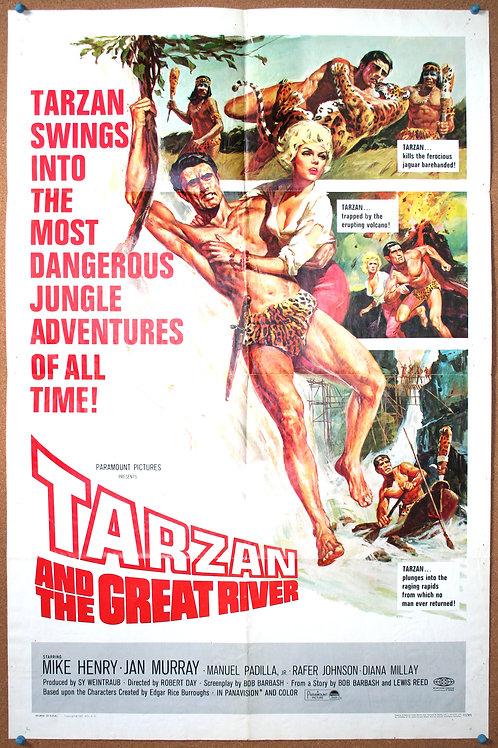 Tarzan and the Great River, 1967
