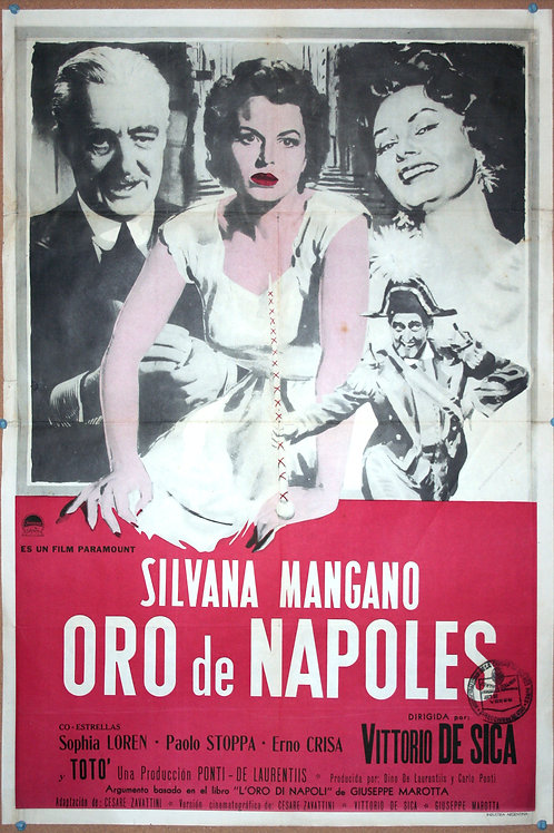 The Gold of Naples, 1954