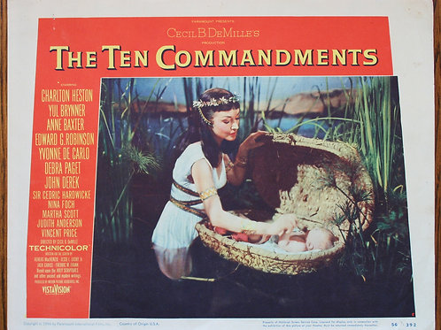 The Ten Commandments, 1956