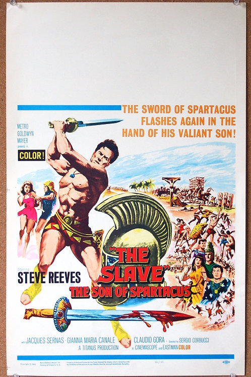 The Slave, the Son of Spartacus, 1962