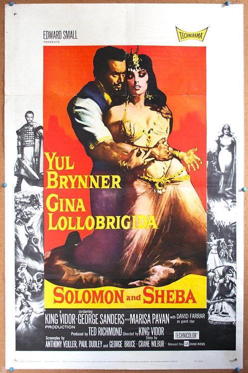 Solomon and Sheba, 1959