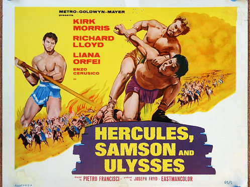 Hercules, Samson and Ulysses, 1965