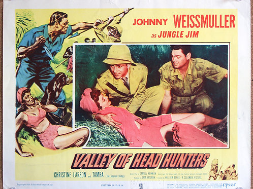 Valley of Head Hunters,1953
