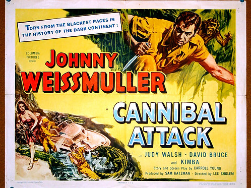 Cannibal Attack, 1954