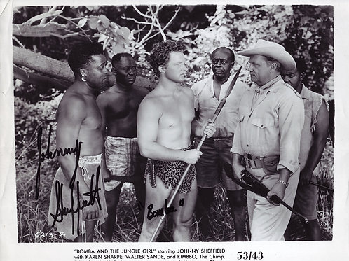 Bomba and the Jungle Girl, 1953
