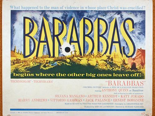 Barabbas (8), 1961