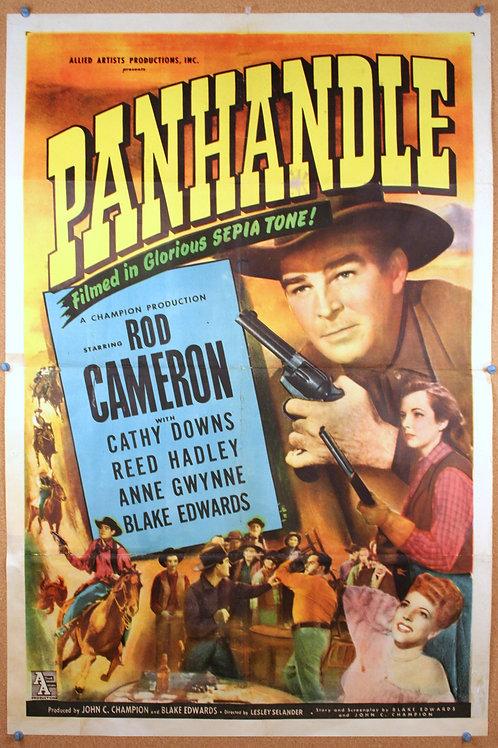 Panhandle, 1948, original vintage movie poster