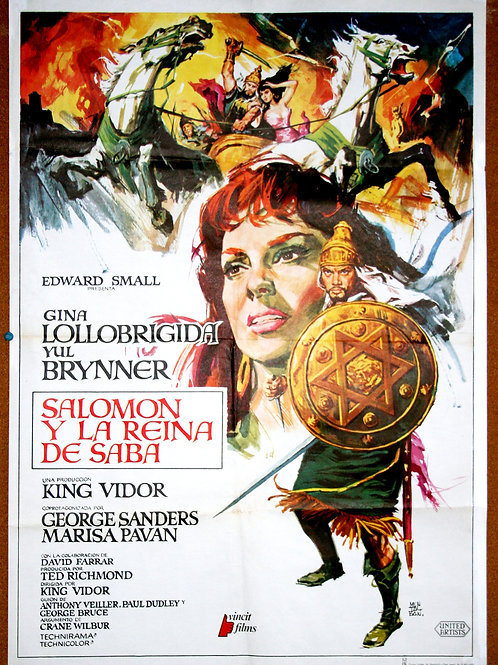 Solomon and Sheba, 1959