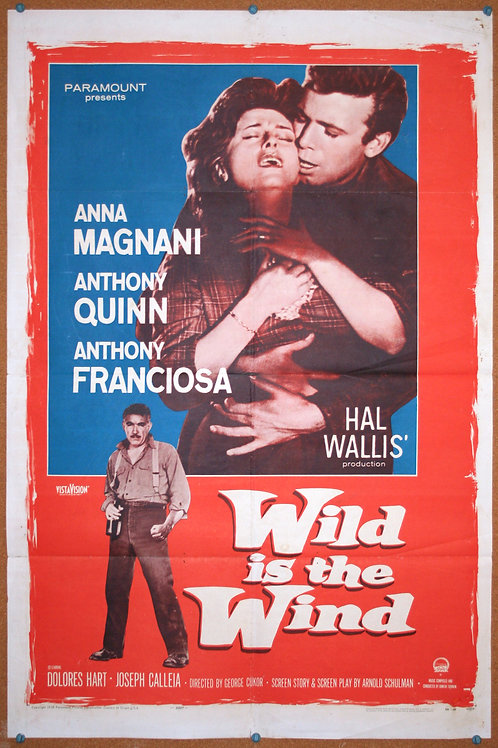 Wild Is the Wind, 1957