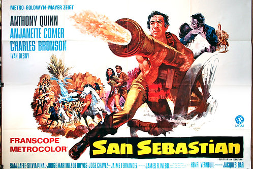 Guns for San Sebastian, 1968