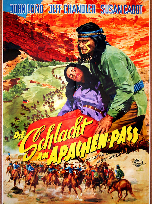 Battle at Apache Pass, 1952