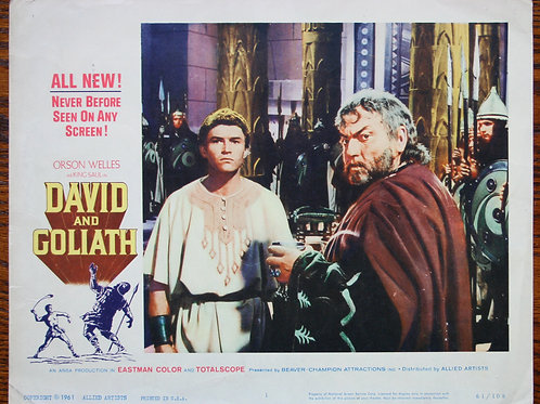 David and Goliath (set), 1960