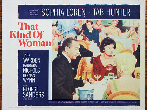 That Kind of Woman, 1959