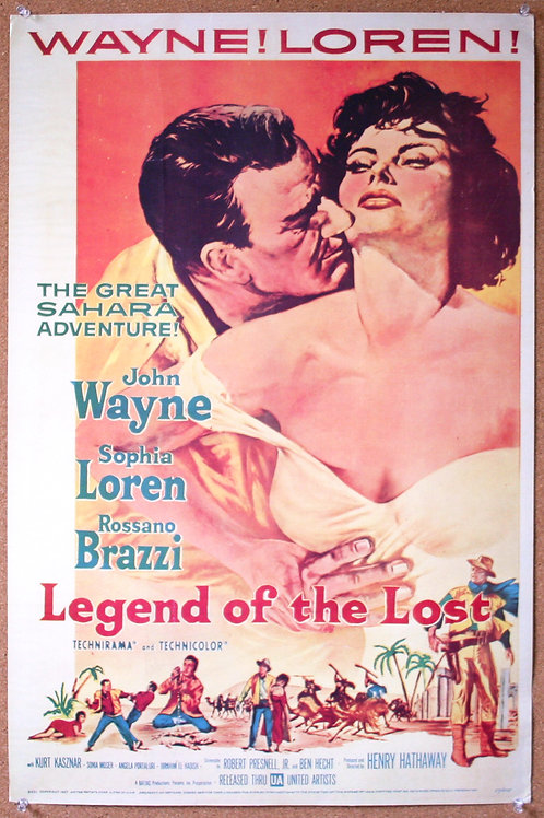 Legend of the Lost, 1957