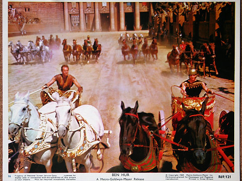 Ben Hur, 1959 (set of 14)