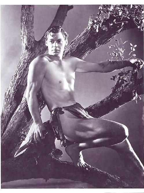 Johnny Weissmuller as Tarzan, 1932