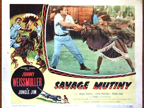 Savage Mutiny (b), 1953