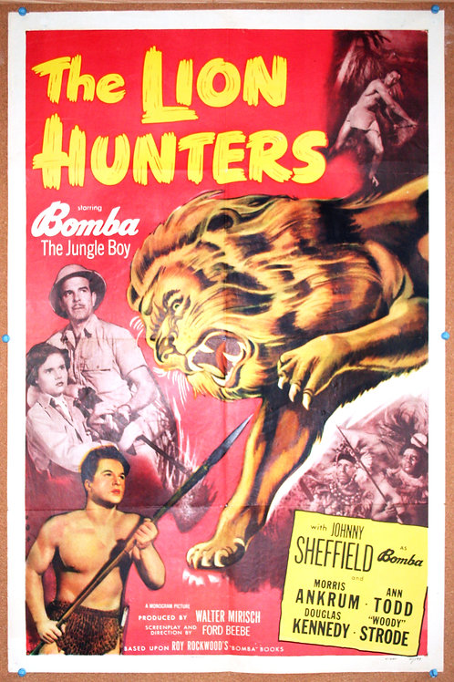 The Lion Hunters (Bomba), 1951