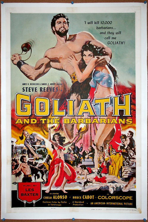 Goliath and the Barbarians, 1959