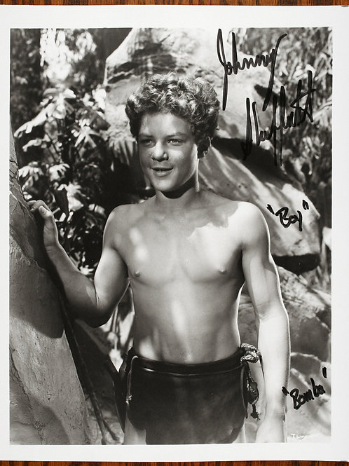 Johnny Sheffield signed photo
