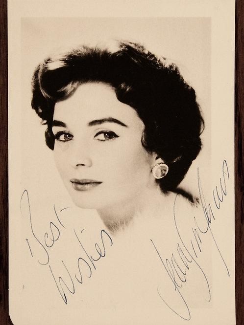 Jean Simmons signature