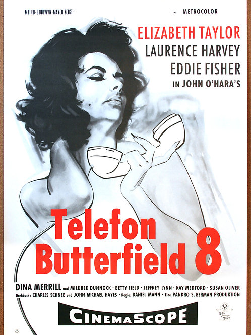 Butterfield 8, 1960
