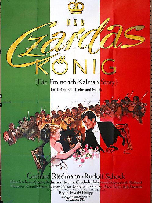 The Czardas-King, 1958