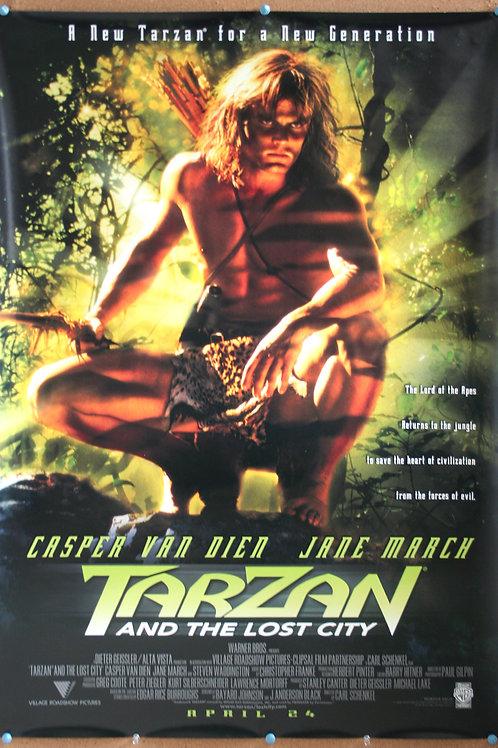 Tarzan and the Lost City, 1998