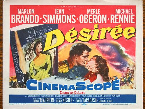 Désirée, 1954