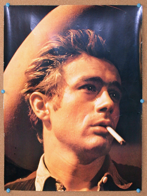 James Dean Star Poster