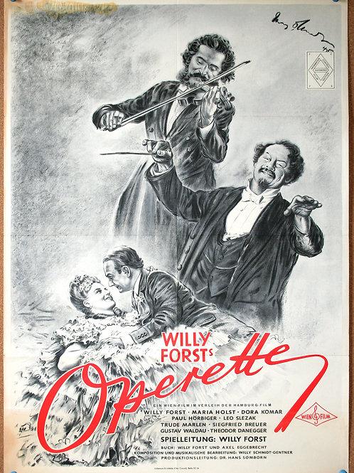 Operetta, 1940