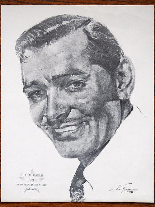 It Happened One Night, 1934,  Clark Gable portrait