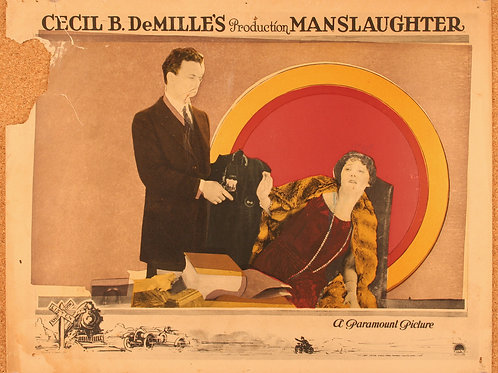 Manslaughter, 1922 (4 lobby cards)