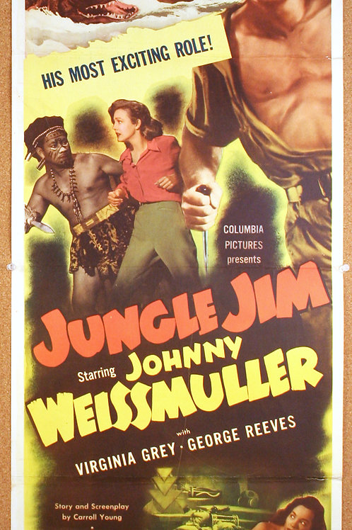 Jungle Jim, 1948