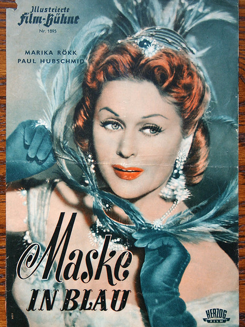 Mask in Blue, 1953