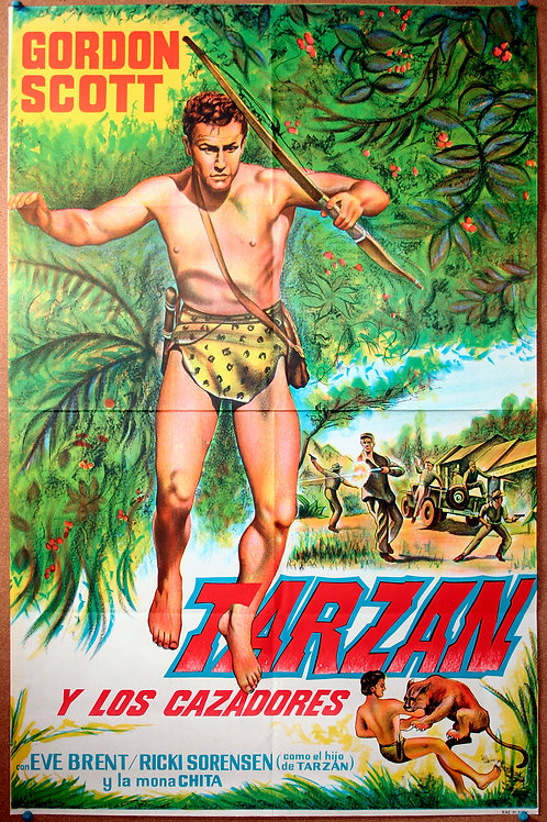 Tarzan and the Trappers, 1958