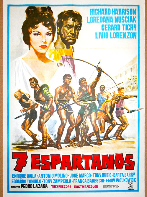 Gladiators 7, 1962